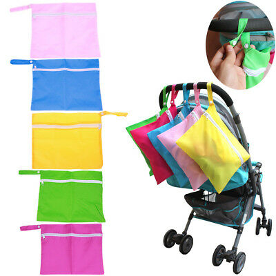Waterproof Baby Stroller Nappy Storage Bag Organizer for Diaper Baby Clothes