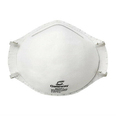 Gateway Safety N95 Particulate Respirator Dust Mask 80301, 1 Box of 20 each