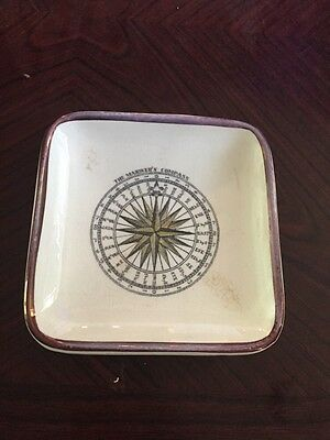 Lovely Grays Pottery Mariners Compass Trinket Dish