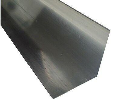 Aluminium Angle Various Sizes 50x25x2mm-140x50x3 /500mm - 1000mm Long