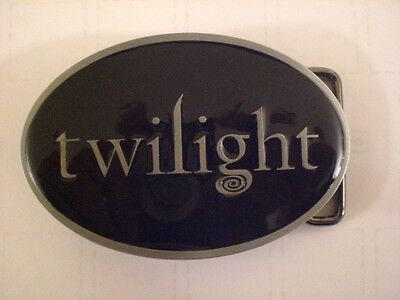 Brand New Twilight Movie Black Belt Buckle