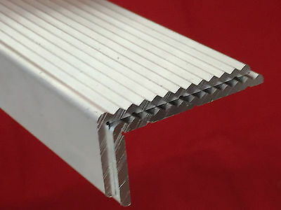 Aluminium Angle Fluted - Multi fluted Anti Slip Trim Stair Nosing Heavy Duty