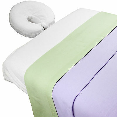 Body Linen Lavender Fields™ Theme Massage Table Sheet Set with Blanket