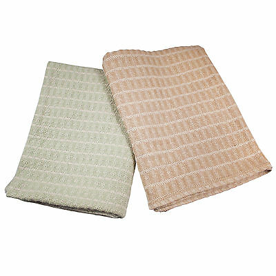 Massage Table Spa Blanket 100% Cotton - Two toned knit - by Body Linen