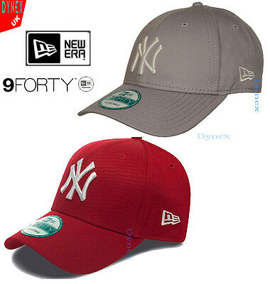 New Era 9Forty MLB Basic NY New York Yankees Adjustable Baseball Cap FREE P&P