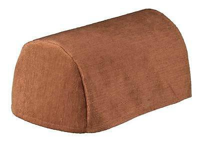 Chenille Chair Arm Covers or Chair Backs, Choice of 7 Plain Colours, Quality UK