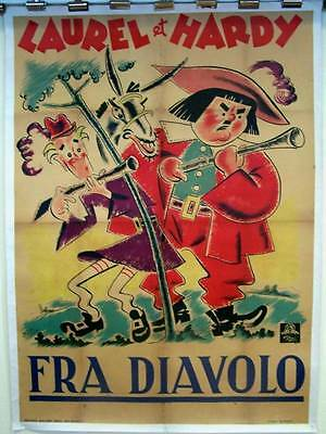 Reduced!  Fra Diavolo '33  Price Dropped!!  Laurel &  Hardy Devil's Brother!