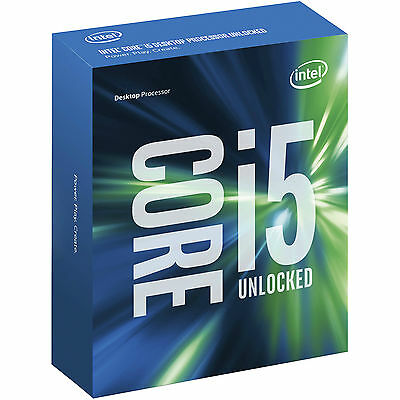Intel® Core™ i5-6600K Processor 3.5GHz (up to 3.9GHz) Quad core, 6MB Cache