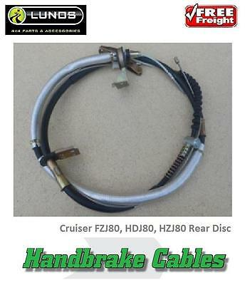 Hand Brake Cable Suits Landcruiser FZJ80, HDJ80, HZJ80 Rear Disc Cable