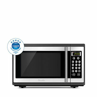 NEW Breville Quick Easy 34 Litres Microwave Oven BMO300BSS