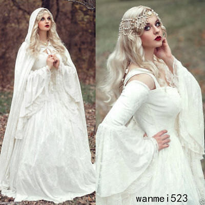 New White/Ivory Mermaid Wedding Dress Bridal Gown Custom size 4 6 8 10 12 14 16+