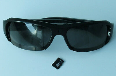 Disguiser Glasses Camera HD 1080 Sunglasses Video Recorder With A 8G  TF Card