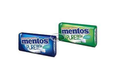 Mentos Sugarfree Mints 2 packs SAME TASTE Candy Peppermint Spearmint mint drops