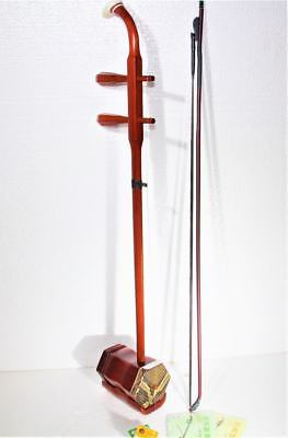 Chinese New Wonderful Red wood Chinese ErHu free rosin and strings