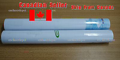 "24"" Clear Transfer Tape Paper Film for Vinyl Graphics Application 55 yard 1 Roll"