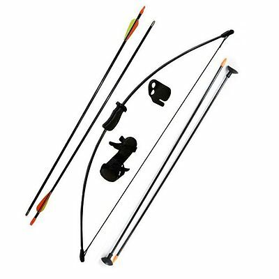 Archery Training Kids Bow Longbow Children Junior Left & Right Toy Outdoor Game