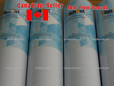 """9"""" x 11 yards Clear Transfer Tape Film for Vinyl Graphics Application 1 Roll"""