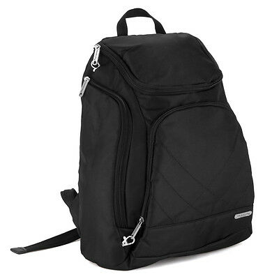 NEW Travelon Carry Safe Anti-Theft Black Travel Backpack
