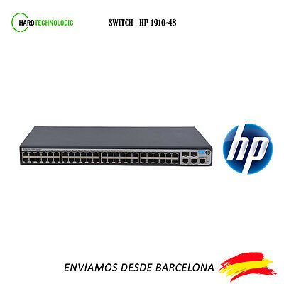 SWITCH HP 1910-48 Puertos 10/100 2 GIGABIT