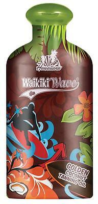 Hawaiiana Waikiki Wave Golden Coconut Dark Tanning Oil Tanning Lotion - 200ml