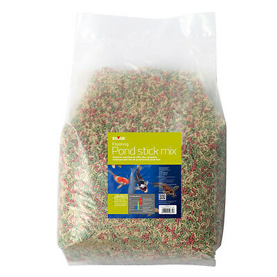 Bermuda Floating Pond Stick Mix 40 Litre Bag Fish Food Feeding Koi Diet Multi
