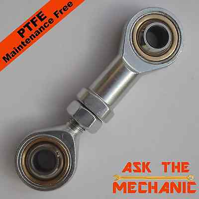 1 Pair of M6 Rod Ends RH Thread Male & Female Rose Joint Tie Track Rod – T6