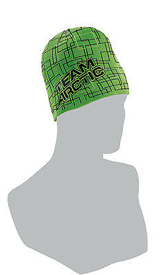 Arctic Cat Adult Team Arctic Squares Beanie / Hat - Lime Green 5259-861