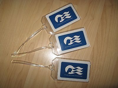 Princess Cruise Luggage Tags - Love Boat Cruise Lines Ship Logo Name Tag Set (3)