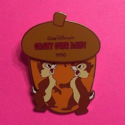 "Chip & Dale ""Crazy Over Daisy"" Hinged History of Art (HOA) Disney Pin LE2000"