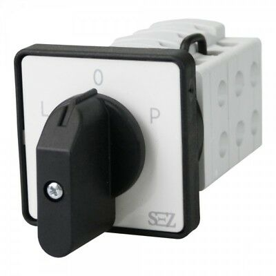 SEZ CAM SWITCHES S16 JD 9151 C6 3P 16A l-0-p with Grip