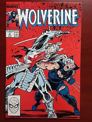 Wolverine Vol. 2 #2 ~ Nm+ (9.6) ~ White Pages!