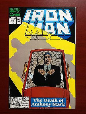 Iron Man #284 ~ Nm (9.4) ~ 1St Appearance Of James Rhodes As War Machine!