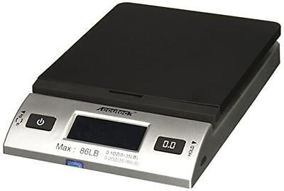 Accuteck S 86 lb All-In-One Silver Digital Shipping Postal Scale with Adapter (W