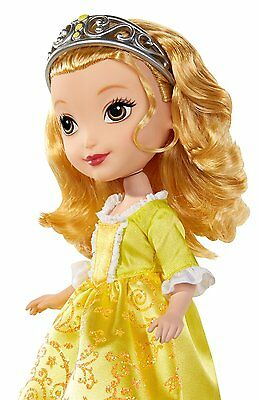 New Disney Sofia The First Young Girls Fantasy Play 10-inch Sofia Amber Doll.