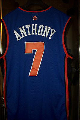 d3bbd3652 NY KNICKS ADIDAS NBA CARMELO ANTHONY  7 Road Swingman Jersey SZ 54 ...