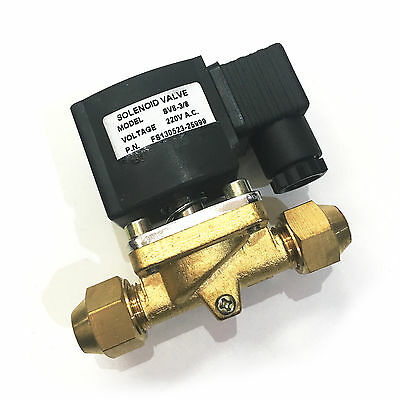 """Solenoid Valve And Coil 3/8"""" Sv8-3/8 With Nut Rf229B"""