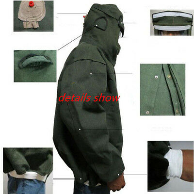 Sandblasting Jacket Sand Blasting Suit Sandblaster Cloth Large Protection