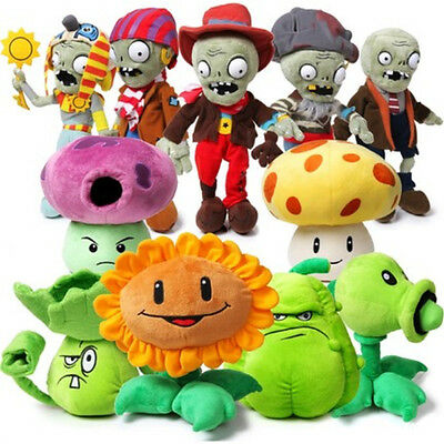 20-30cm Plush Soft Doll Game Plants vs. Zombies Stuffed Figure Kid Toy Baby Gift