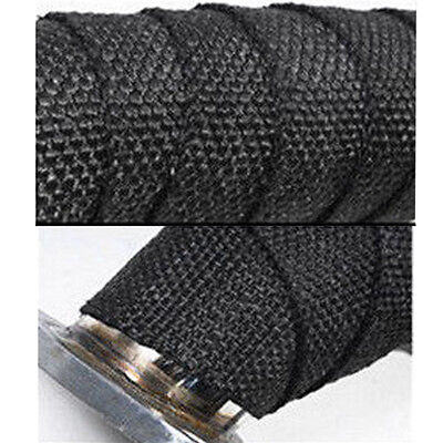 5M Black Motor&Auto Turbo Manifold Heat Exhaust Pipe Insulation Thermal Wrap yp