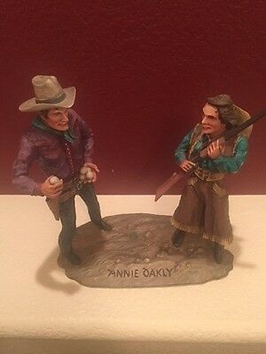 Dee Flagg hand carved Cowboys and Girls from 1922 to 1999 the best wood carver