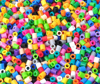 NEW 250 PCS Mixed color PP HAMA/PERLER BEADS for GREAT Kids Great Fun