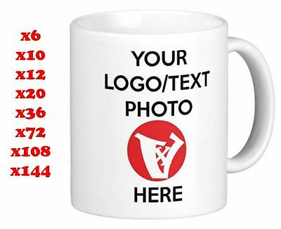 Personalised Custom Mug Cup Promotional bulk for Your Company with your Logo
