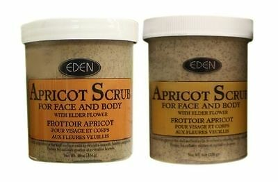 Eden Apricot Face & Body Scrub (Available In Various Sizes) + Free Postage