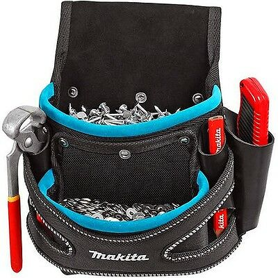 Makita P-71750 Blue Collection 2 Pocket Screw Nail Fixing Tool Belt Holder Pouch