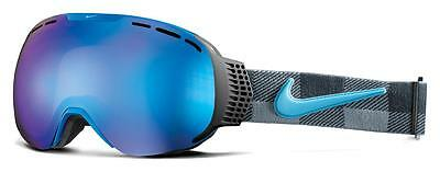 Dragon Nike Command Goggles Black Blue Tide Check Blue Steel+Yellow Red Ion