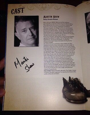 Martin Shaw Signed Hobson's Choice Theatre Programme The Professionals