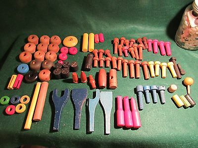Wood Toy Builder Parts As A Lot