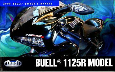 Buell - 1125R 2008 Owners Manual - Brand New  - Service History Record Book