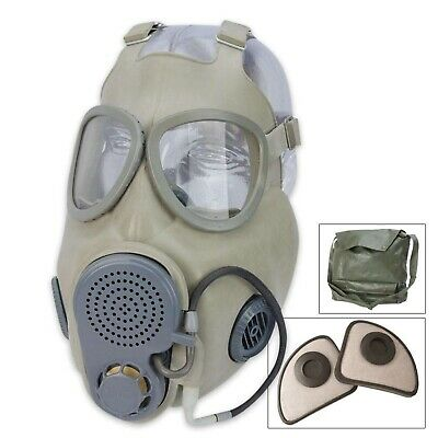 Czech, East german Troops M-10 Gas Mask. New full set M10 CZ gas mask