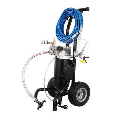 Professional Airless Paint Sprayer Gun  Indoor Outdoor  Adjust Pressure Control